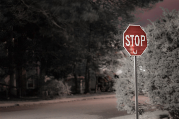Ina Meyer Stop sign